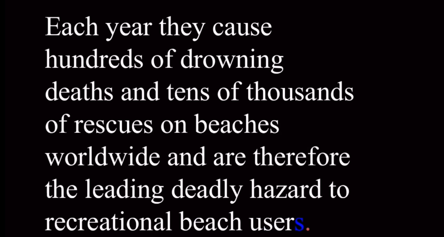 Hazard of Rip Current